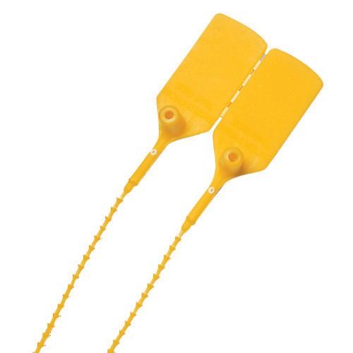 Yellow Anti Tamper Seals X 100