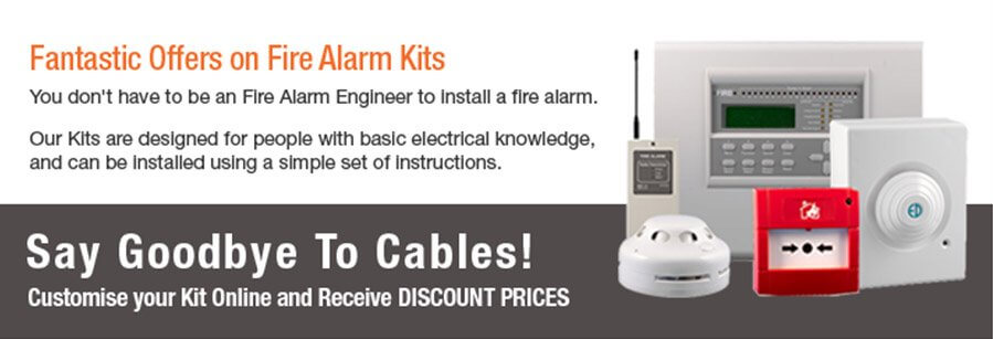 Wireless Fire Alarm Kits