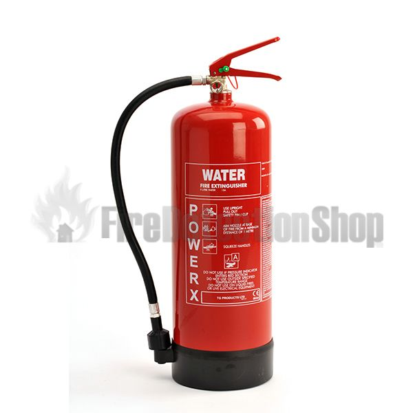 Power x 9l water fire extinguisher for Recensioni h2o power x