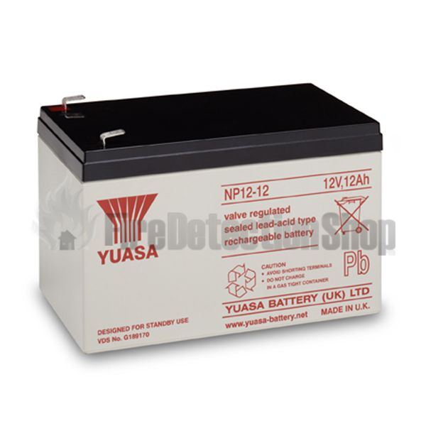 yuasa np12 12 12v 12ah sealed lead acid battery. Black Bedroom Furniture Sets. Home Design Ideas