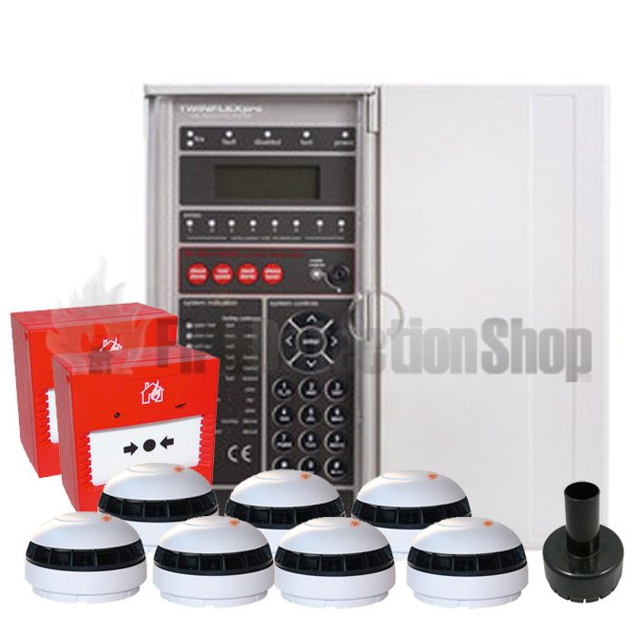 Fike Twinflex Pro 8 Zone Fire Alarm Kit