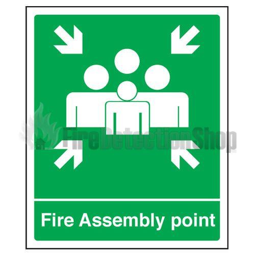 fire assembly point sign large. Black Bedroom Furniture Sets. Home Design Ideas