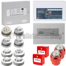 Fire Alarm Kits w/ Sounder Beacons