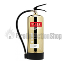 Polished Gold Fire Extinguishers