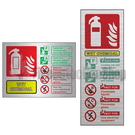 Prestige Extinguisher ID Signs