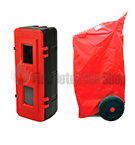 Fire Extinguisher Cabinets, Covers & Accessories