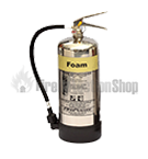 Chrome Foam Fire Extinguishers
