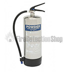 Chrome Powder Fire Extinguishers