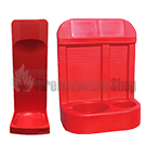 Red Fire Extinguisher Stands