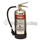 Chrome Water Fire Extinguishers
