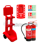 Construction Mobile Extinguisher And Stand Packs
