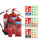 Extinguisher Multi-Packs with Signs
