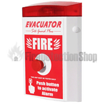 Evacuator Site Guard Push Button Fire Alarm