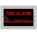 Kentec K27101 Fire Alarm Evacuate Area Illuminated Sign