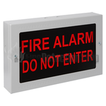 Kentec K27102 Fire Alarm Do Not Enter Illuminated Sign
