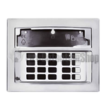 Pyronix LCD-CASING/CHROME Euro LCD Chrome Keypad Casing