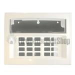 Euro LCD White Keypad Casing