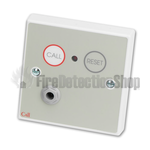 C-Tec NC802DB Standard Call Point, Button Reset c/w Remote Socket