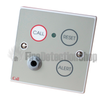 C-Tec NC802DEB-1/2 Emergency Call Point, Button Reset c/w Remote Socket