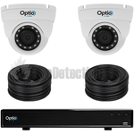 Vista Optio 2 Camera Fixed Lens IP CCTV Kit
