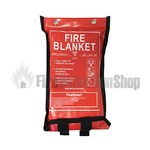 1.8m x 1.8m Soft Case Fire Blanket