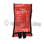 1.0m x 1.0m Soft Case Fire Blanket