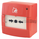 Ziton ZP785-3 Flush Mount Red Analogue Call Point c/w EN 54 Marking