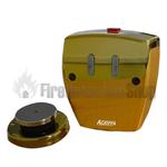 Agrippa Acoustic Wireless Magnetic Door Retainer - Brass