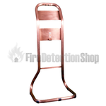 Single Antique Copper Tubular Stand