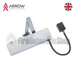 Arrow 624 Electromagnetic Hold Open/Swing Free Power Size 4 Universal Fire Door Closer
