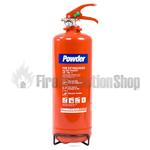 Commander Edge DP2E 2Kg Dry Powder Fire Extinguisher