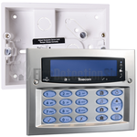 Texecom DBD-0123 Premier Elite Satin Chrome Flush Mounted Keypad