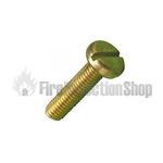Brass Machine Screws M4 x 10mm (Pack 100)