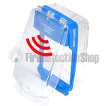 Vimpex SG-SS-B Smart+Guard Surface Mount Call Point Protective Cover w/ Sounder (Blue)