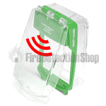 Vimpex SG-SS-G Smart+Guard Surface Mount Call Point Protective Cover w/ Sounder (Green)