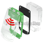 Vimpex SGE-SS-G Smart+Guard Waterproof Surface Mount Call Point Protective Cover w/ Sounder (Green)