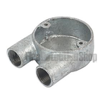 20mm Galvanised U Box