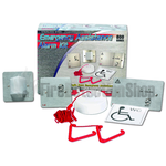 C-Tec NC951/SS Stainless Steel Accessible Toilet Alarm Kit