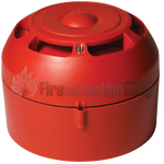 Evolution Addressable Red High output Sounder IP65