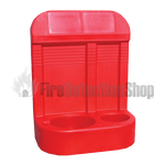 New Design Double Red Fire Extinguisher Stand