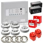 Kentec 2 Zone Fire Alarm Conventional Kit - Apollo