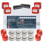 2 Zone Contractor Fire Alarm Kit