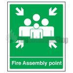 Fire Assembly Point Sign (large)