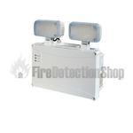 High Power IP65 LED Emergency Lighting Twin Spot