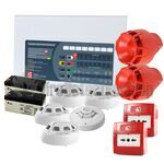 C-Tec 2 Zone Fire Alarm Conventional Kit - Hochiki