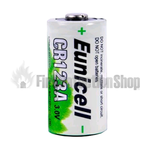 Alkaline CR123A Type Industrial Battery (Pack 10)