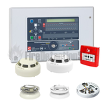 32 Zone Two Loop Addressable Fire Alarm Kit - Hochiki