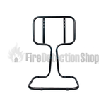 Double Black Tubular Fire Extinguisher Stand