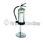 Single 9kg / 9ltr Stainless Steel Metal Extinguisher Stand