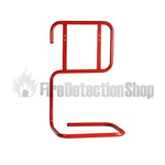 Double Red Tubular Fire Extinguisher Stand